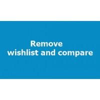 Remove Wishlist and Compare